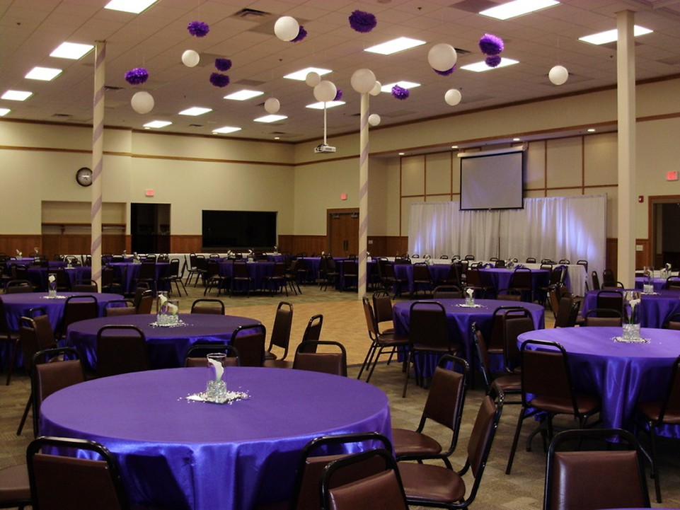 Event Room with Balloons